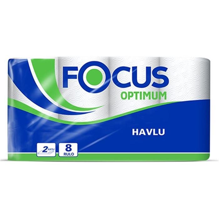 Focus Optimum Rulo Havlu 8'li 3'lü Koli resmi