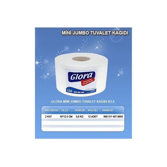 Glora Mini Jumbo Tuvalet Kağıdı resmi