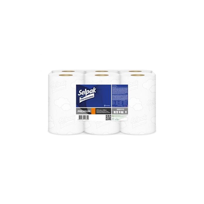 Selpak Professional Premium Sensörlü Havlu 21.5 cm  135 m resmi