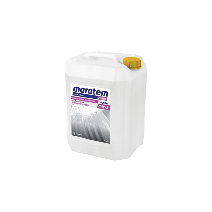 Maratem M352 Endüstriyel Bulaşık Makineleri için Klorlu Bulaşık Makinesi Deterjanı 24,94kg resmi