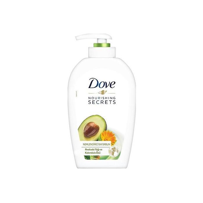 Dove Avokado Yağ Ve Kalendula Özü Sıvı Sabun 500ml 12'li Koli resmi