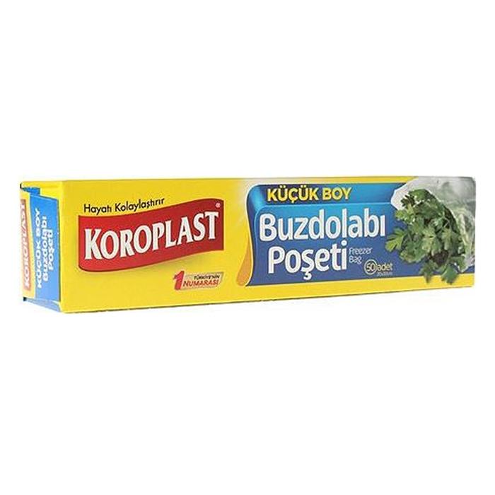 Koroplast Buzdolabı Poşeti Küçük Boy 20cm X 30cm 40'lı resmi