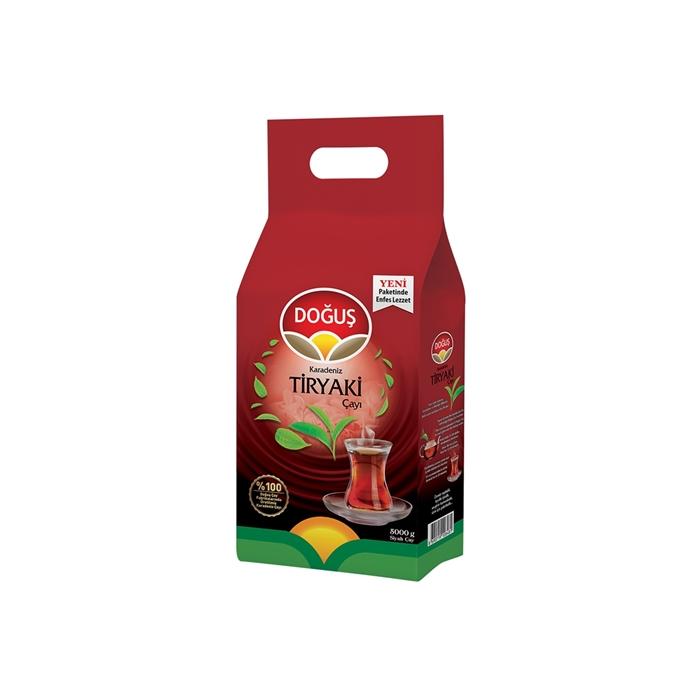 Doğuş Tiryaki Çayı 5000gr 2'li Koli resmi