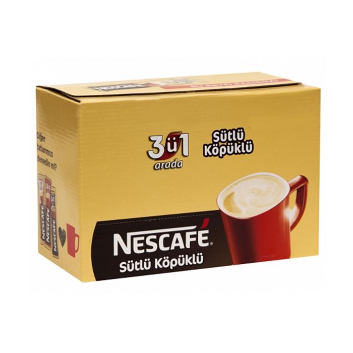 Nescafe 3ü1 Arada Sütlü Köpüklü 72 Adet resmi