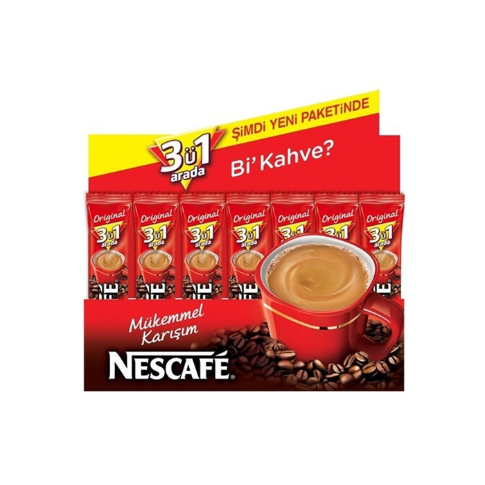 Nescafe 3ü1 Arada Original 72 Adet resmi