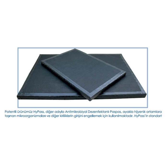 HyPass Antimikrobiyal Hijyen Paspas 40cm*60cm resmi