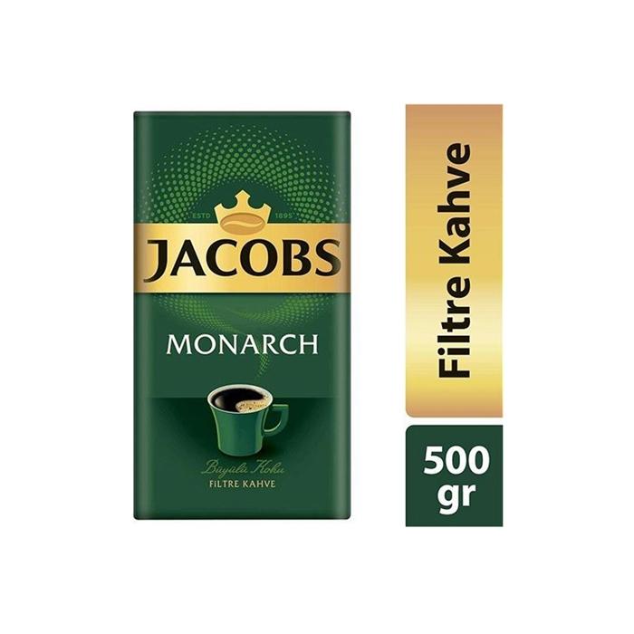 Jacobs Monarch 500 gr Filtre Kahve  12'li Koli resmi