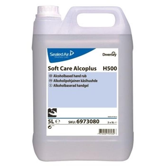 Diversey Orion Soft Care Alcoplus H500 El Dezenfektanı 5lt 2'li Koli resmi